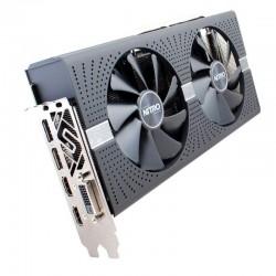 Sapphire Radeon RX 580 NITRO+ 4G Backplate & SAMSUNG MEMORY  (11265-31)