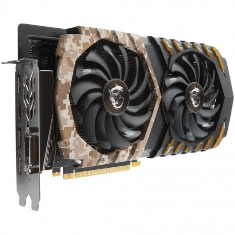 MSI GeForce GTX 1060 Camo Squad 6G