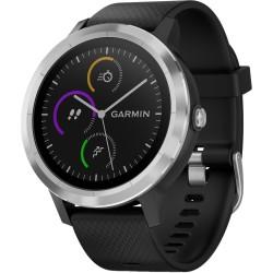 Смарт-часы Garmin Vivoactive 3 Black with Stainless Hardware (010-01769-02)