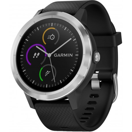 Garmin Vivoactive 3 Black with Stainless Hardware (010-01769-02)