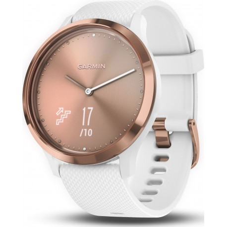 Смарт-часы Garmin Vivomove HR, E EU, Sport, Rose Gold-White (010-01850-22)010-01850-11)